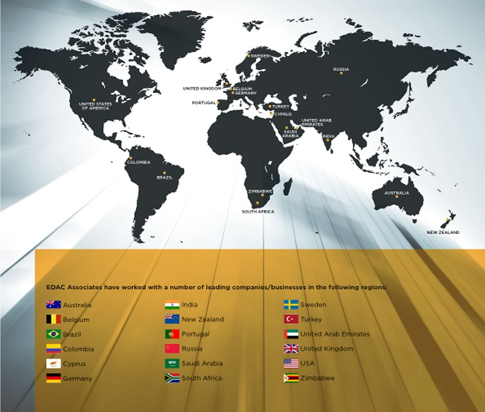 EDAC Global Footprint